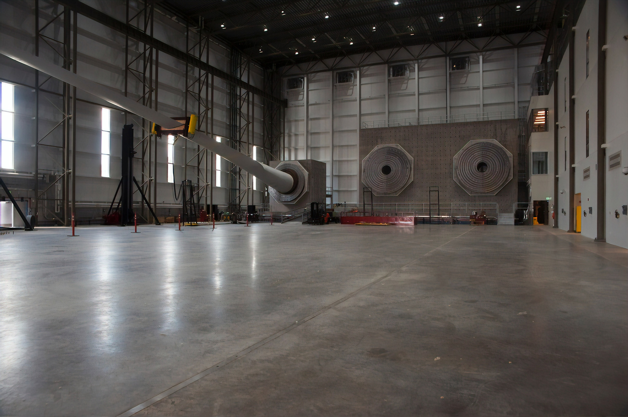 Hangar Metal Building Interior