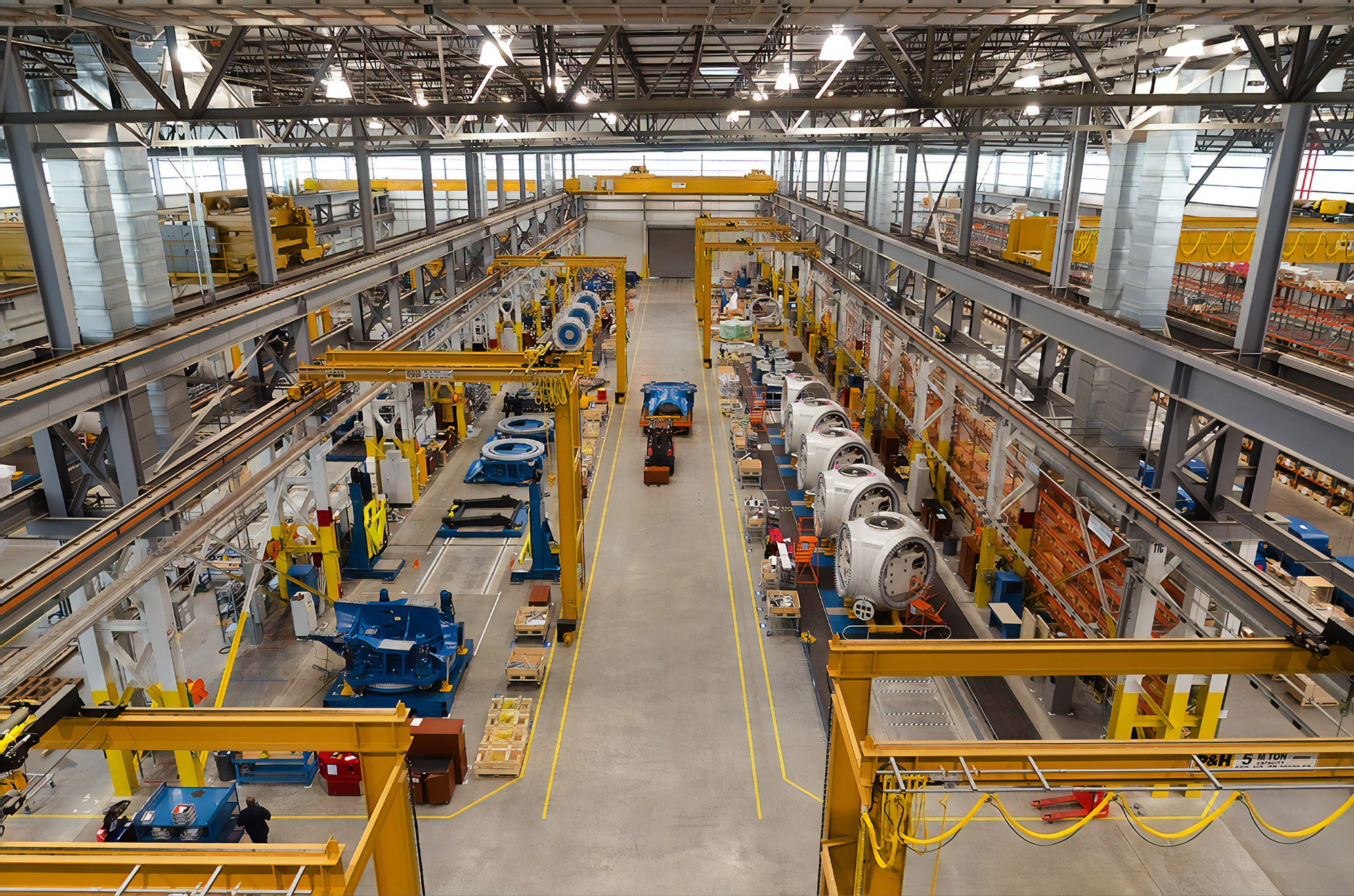 metal buildings for manufacturing