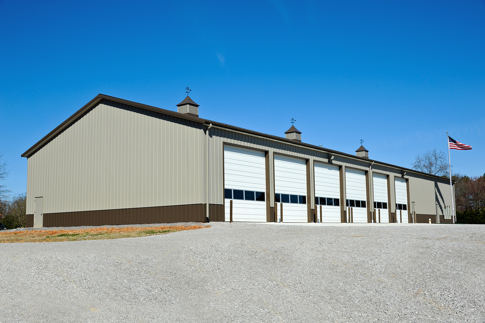 metal building for new fire station